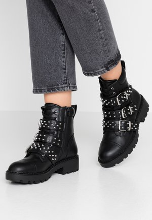 FERIZ - Cowboy/biker ankle boot - black