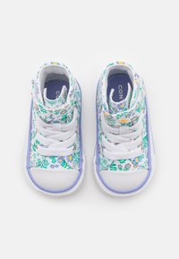 Converse - CHUCK TAYLOR ALL STAR - High-top trainers - white/twilight pulse/citron pulse - 3