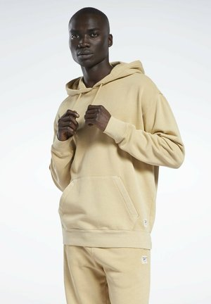CLASSIC NATURAL DYE SEASONAL - Hoodie - beige
