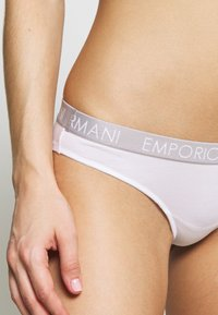 Emporio Armani - BRAZILIAN BRIEF 2 PACK - Briefs - white/black - 4