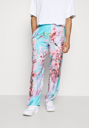 SPECIAL PIECES PANTS UNISEX - Trousers - blue/pink