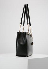 DKNY - BRYANT SHOP TOTE SUTTON - Handbag - black/gold - 3