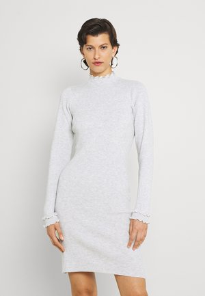 ASHLEE  DRESS - Pletené šaty - grey