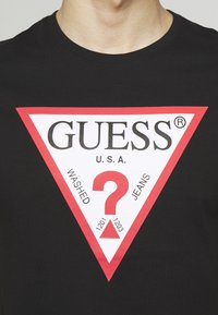 Guess - ORIGINAL LOGO - Camiseta estampada - jet black - 5