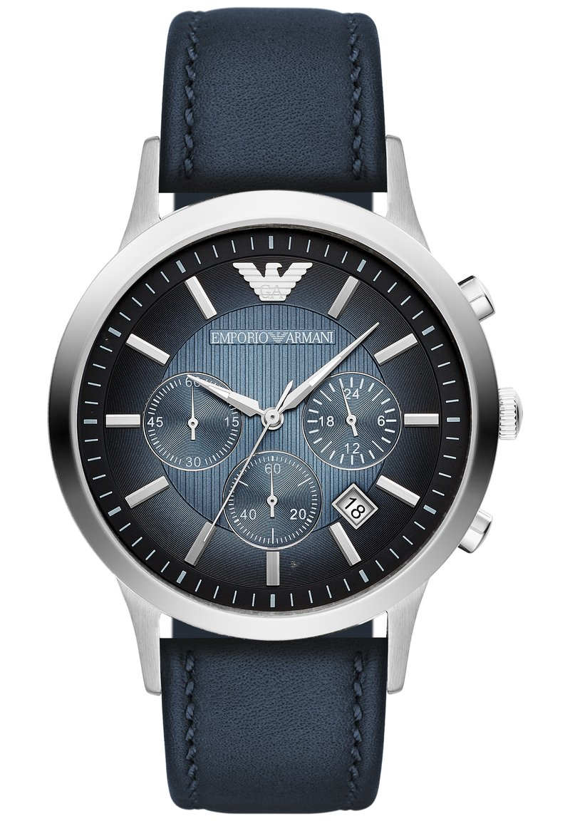 Emporio Armani - Chronograph watch - blue