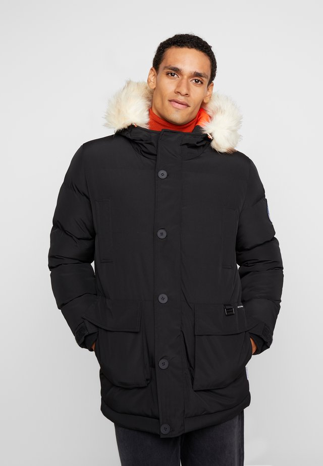 TRIM MOUNTAIN - Winter coat - black