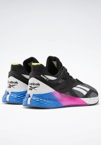 Reebok - NANO X SHOES - Sneaker low - black - 6