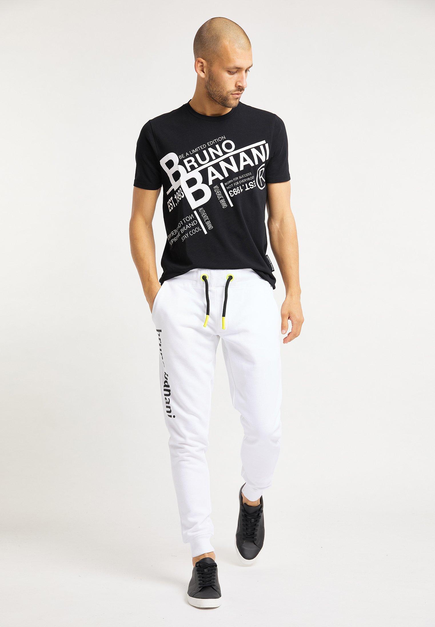 Bruno Banani T-shirt Z Nadrukiem - Schwarz