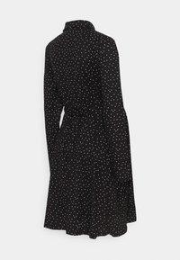 New Look Maternity - SPOT DRESS - Jerseykjole - black/white - 1
