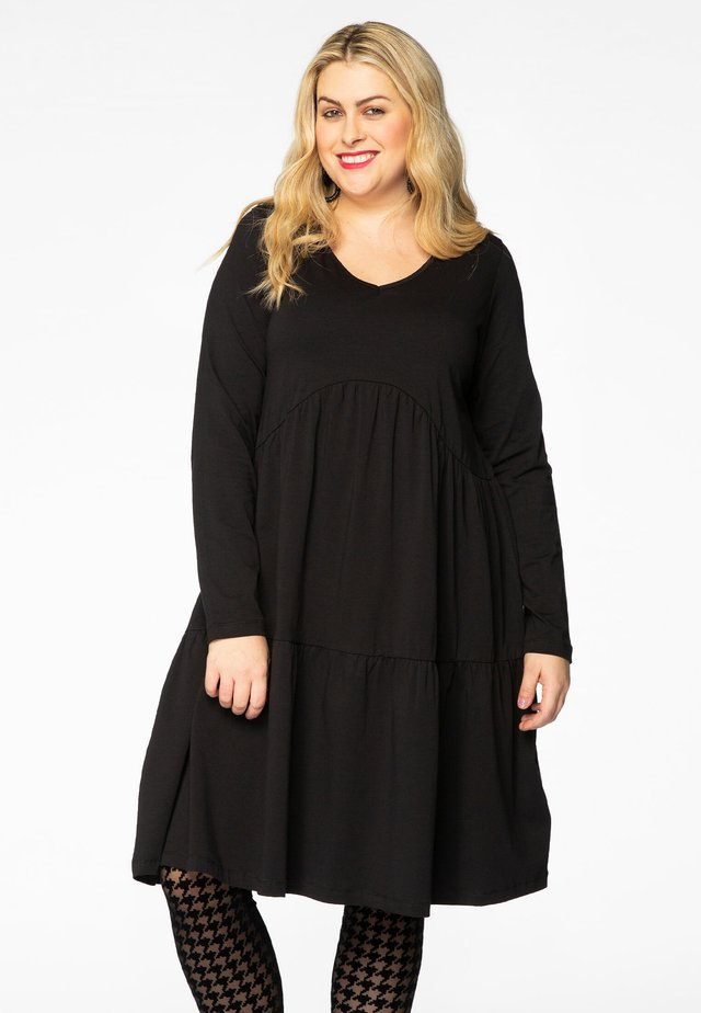 LONG SLEEVES - Day dress - black
