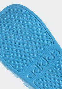adidas Performance - ADILETTE AQUA SWIM - Pool slides - blue - 6
