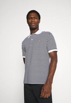 Polo shirt - white/navy blue