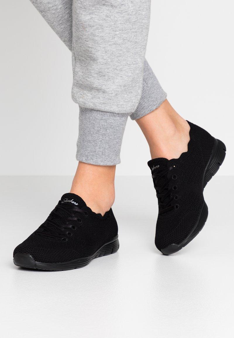 Skechers - SEAGER - Sneakers laag - black