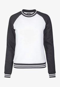 Urban Classics - Sweatshirt - white/black - 0