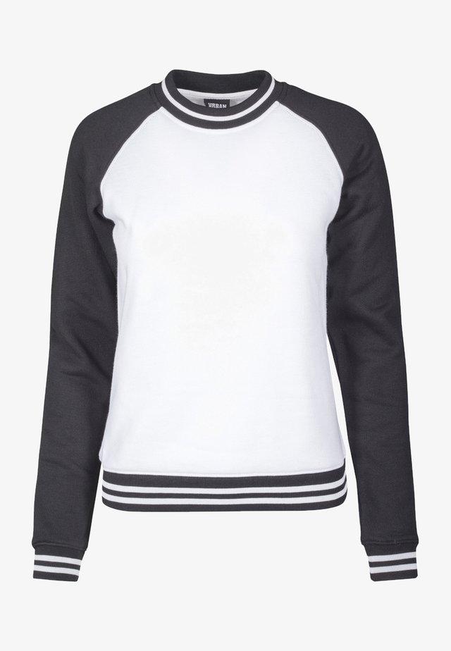 Bluza - white/black