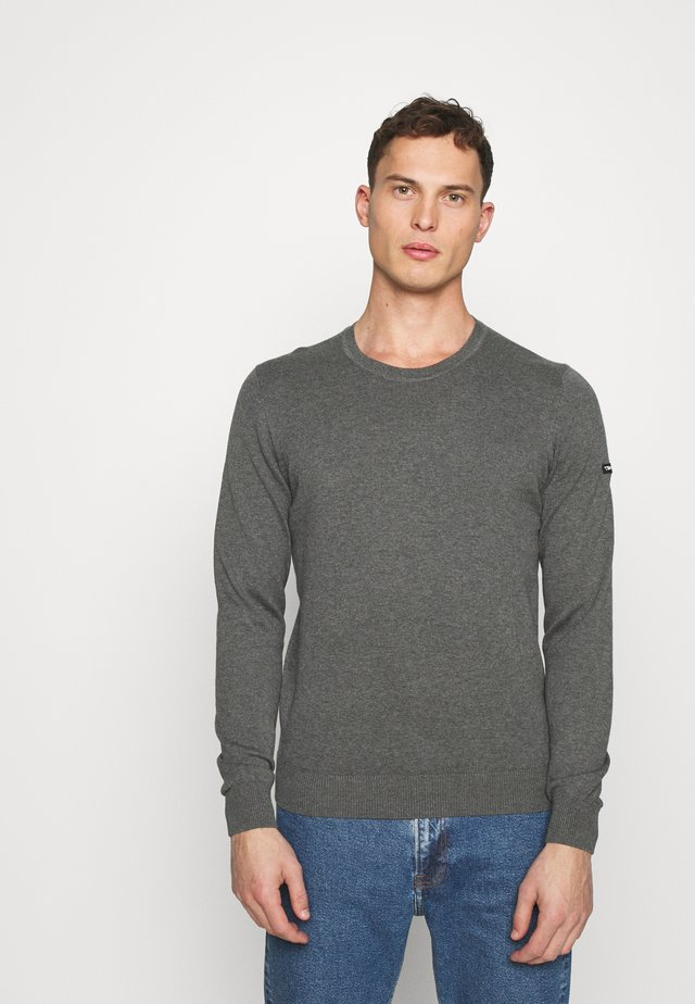 NANIX - Strickpullover - anthracite chine