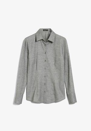 M-FRIDA-PB - Button-down blouse - grau