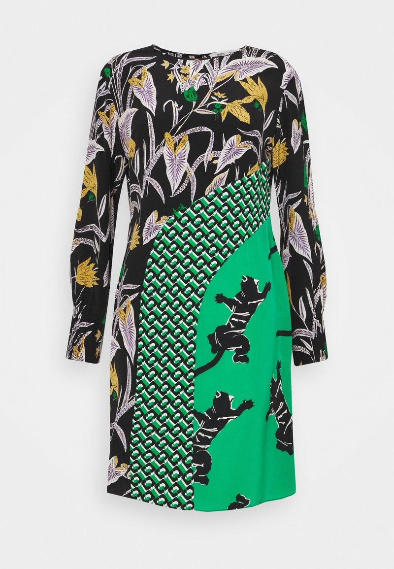 Diane von Furstenberg - JAMIE DRESS - Vapaa-ajan mekko - green