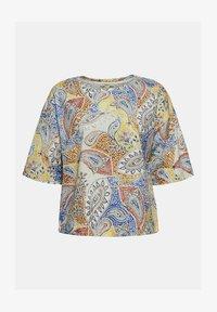 Esprit - MIT PRINT - T-shirt imprimé - off white - 4