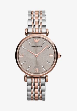 Montre - silver-coloured/rosegold-coloured