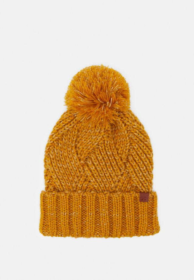 BEANIE - Beanie - dark yellow