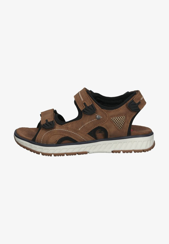 Outdoorsandalen - marron cognac