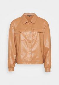 comma - LANGARM - Faux leather jacket - camel - 0