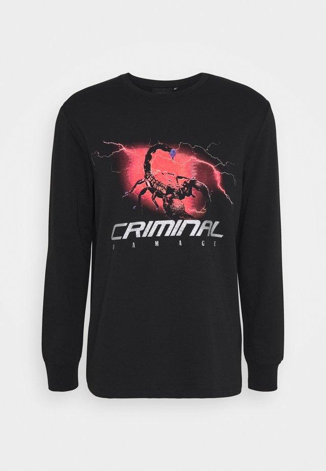 SCORPIAN STORM - T-shirt à manches longues - black