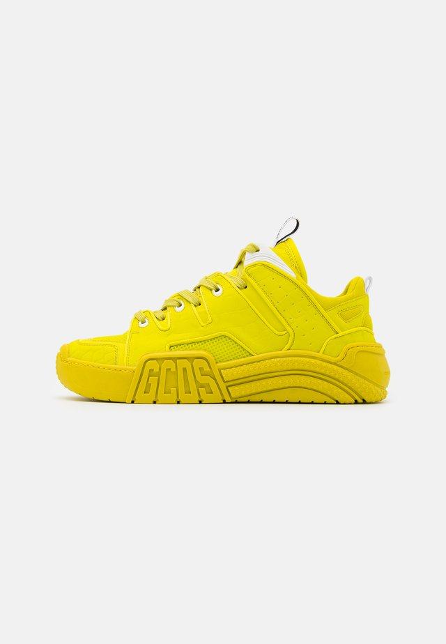 CROCO SLIM - Sneakers basse - lime