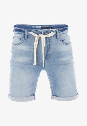 RIVPAUL - Denim shorts - light blue denim