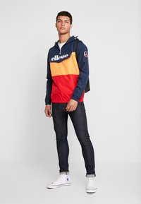 Ellesse - MONTE LEONE - Windbreaker - navy/orange/red - 1