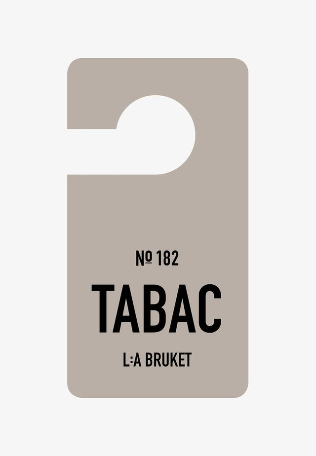 FRAGRANCE TAG - Scented candle - no.182 tabac