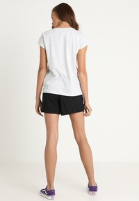 Mustang - LOGO - Print T-shirt - light grey melange - 2