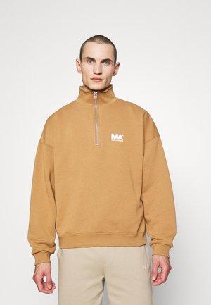 TURTLENECK - Sweatshirt - brown sugar