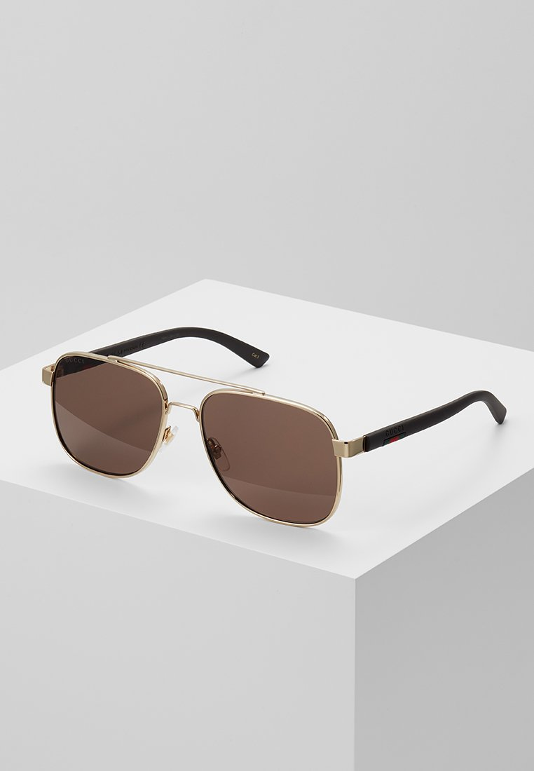 Gucci - Sonnenbrille - gold/brown