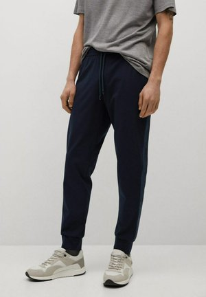 OHIO - Tracksuit bottoms - dunkles marineblau