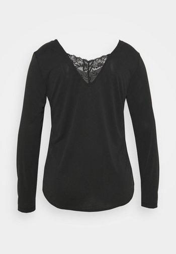 VMFILLI - Long sleeved top - black