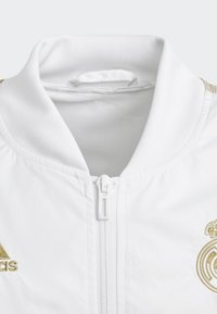 adidas Performance - REAL MADRID ANTHEM JACKET - Club wear - white - 2
