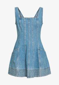BETWEEN THE LINES DRESS - Denim dress - blue denim
