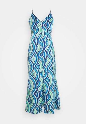 STRAPPY LINDOS - Juhlamekko - blue