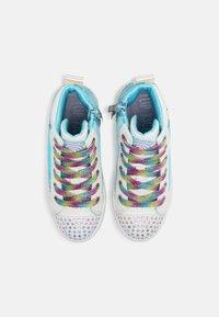 Skechers - TWI LITES 2.0 - Vysoké tenisky - white/multi/turquoise - 3