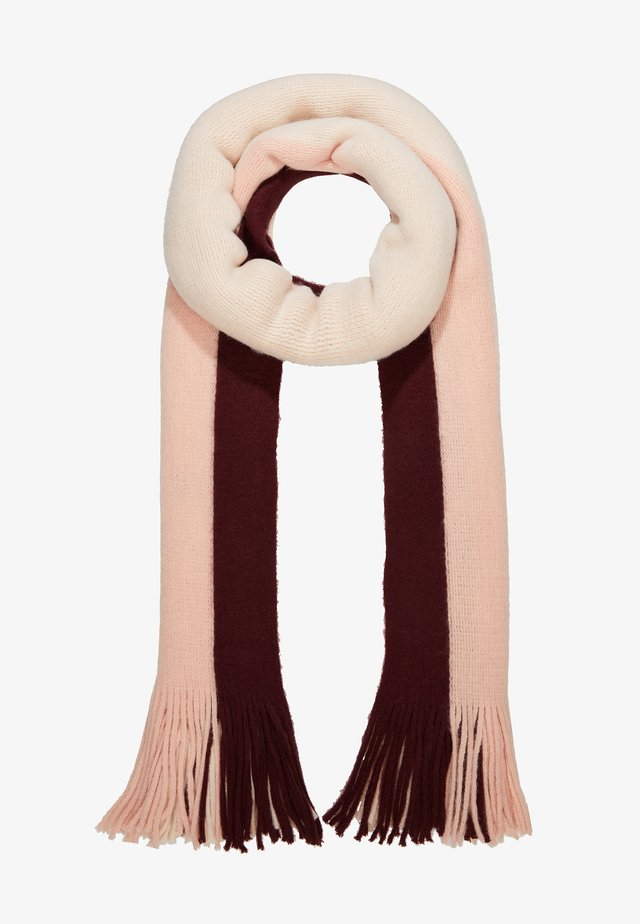 PCHEIDI LONG SCARF - Szal - cream/pink
