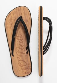 O'Neill - DITSY - T-bar sandals - black out - 3