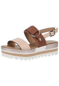 NeroGiardini - Platform sandals - cipria - 1