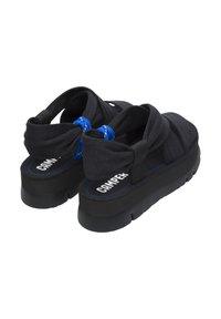 Camper - ORUGA UP - Platform sandals - schwarz - 3