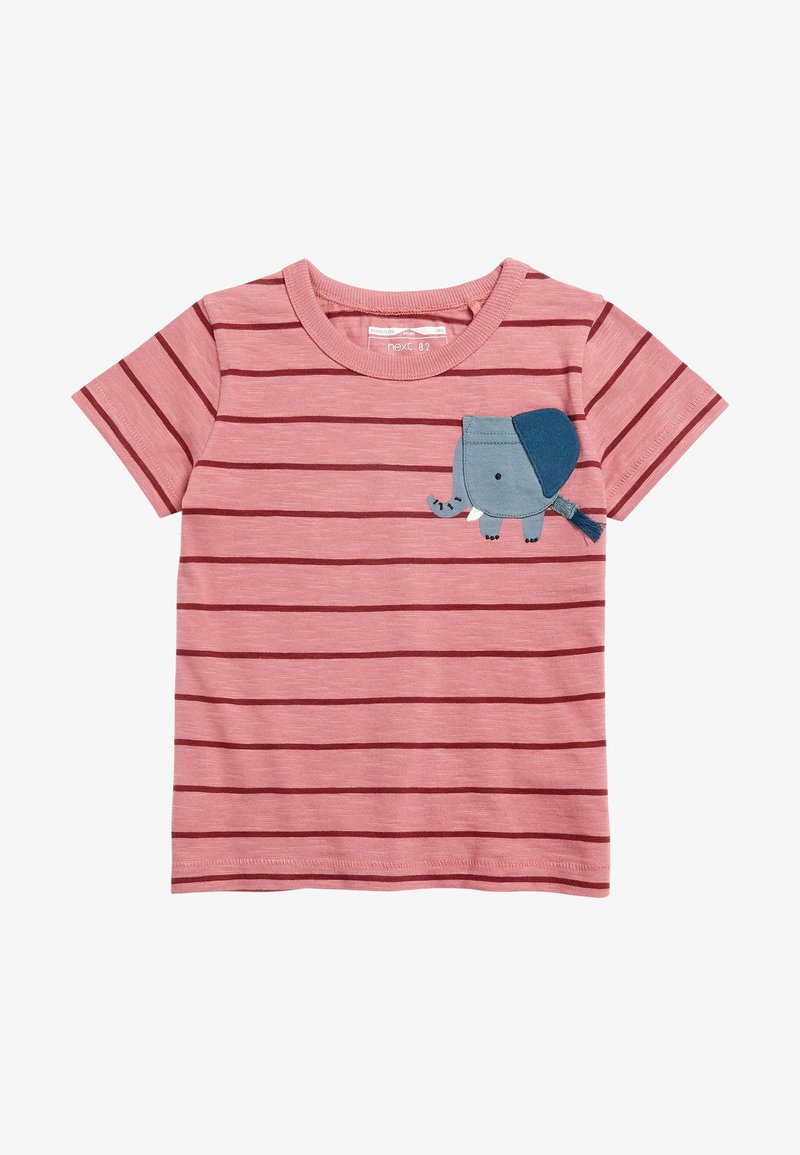 Next - Print T-shirt - red