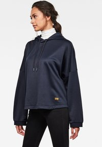 G-Star - VEMERY RELAXED HOODED LONG SLEEVE - Hoodie - sartho blue - 2