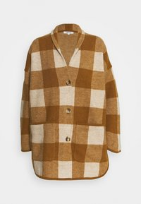 Madewell - PLAID  - Classic coat - heather/parchment - 0