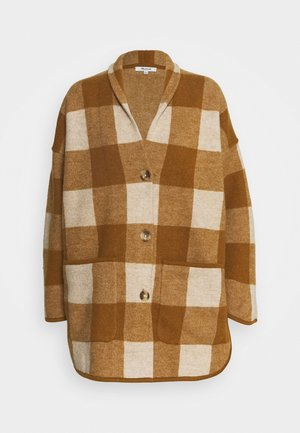 PLAID  - Classic coat - heather/parchment