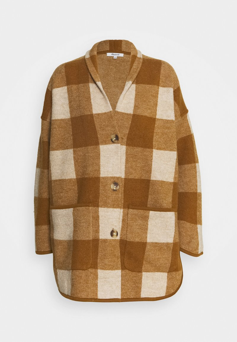 Madewell - PLAID  - Classic coat - heather/parchment